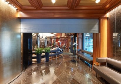 Branngardin EI 60 på Hotel Astoria