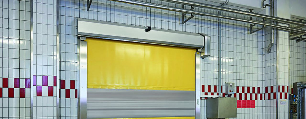 Gul S1500 hurtigport i bruk i næringsmiddelindustrien