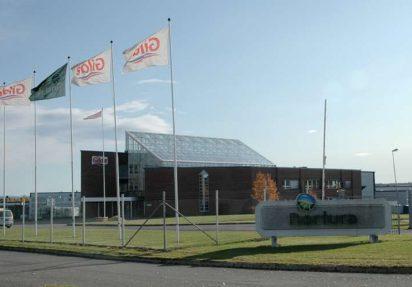 Fasadefoto av Gilde industribygg